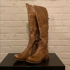 Bed Stu Shoes - Bed Stu Caramel Surrey Lux Boot